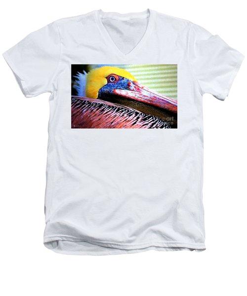 Albatross King Men's V-Neck T-Shirt