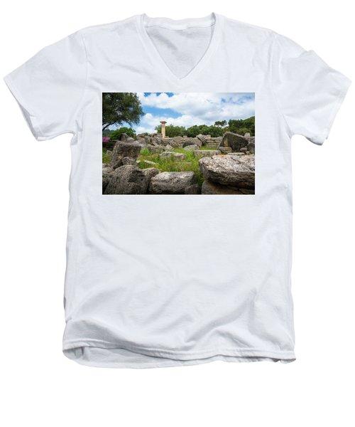 Ancient Olympia / Greece Men's V-Neck T-Shirt
