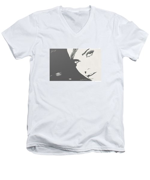 #art #illustration #drawing #draw Men's V-Neck T-Shirt