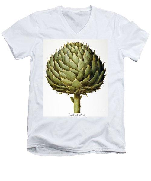 Artichoke, 1613 Men's V-Neck T-Shirt