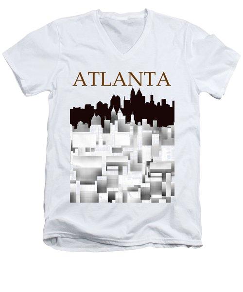 Atlanta 1 Men's V-Neck T-Shirt