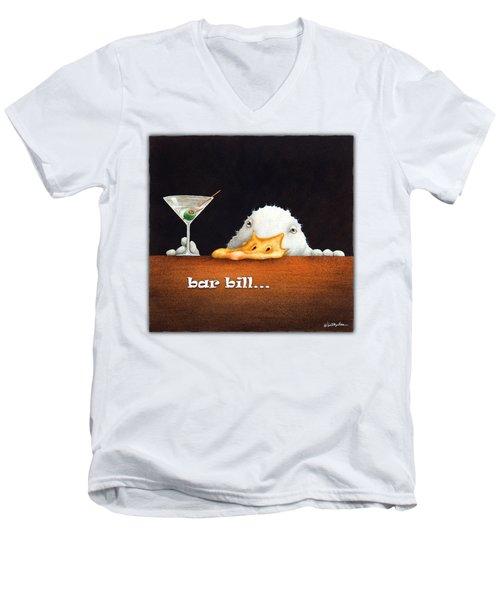 Bar Bill... Men's V-Neck T-Shirt
