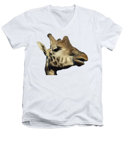 Baringo Giraffe Men's V-Neck T-Shirt