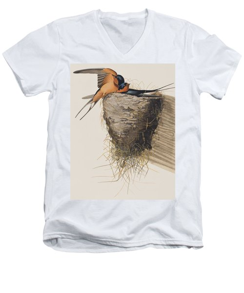 Barn Swallow Men's V-Neck T-Shirt