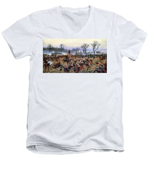 Battle Of Fredericksburg - To License For Professional Use Visit Granger.com Men's V-Neck T-Shirt