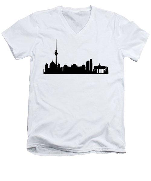 Berlin Men's V-Neck T-Shirt
