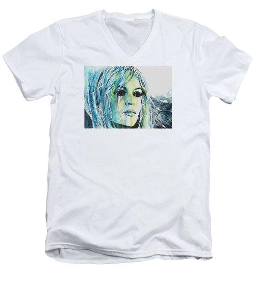 Brigitte Bardot Men's V-Neck T-Shirt