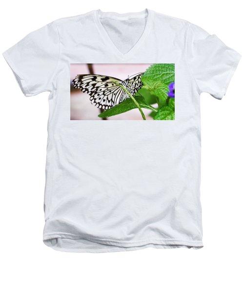 Paper Kite Butterfly No. 1 Men's V-Neck T-Shirt