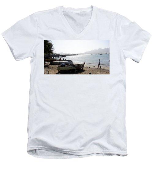Cape Verde Men's V-Neck T-Shirt