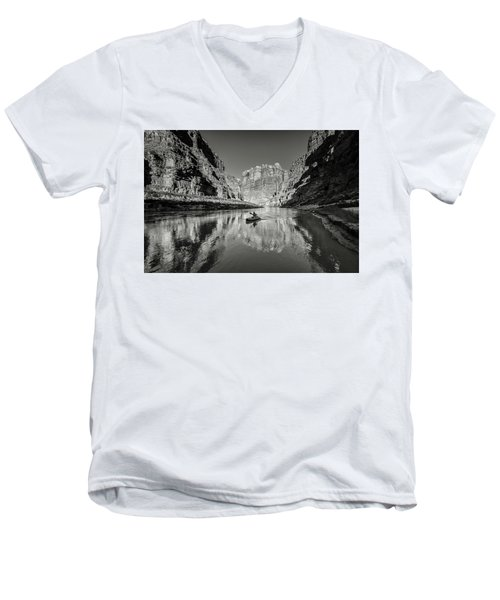 Cataract Canyon Men's V-Neck T-Shirt
