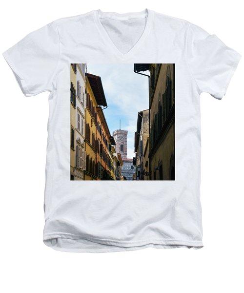 Cattedrale Di Santa Maria Del Fiore, Florence Men's V-Neck T-Shirt