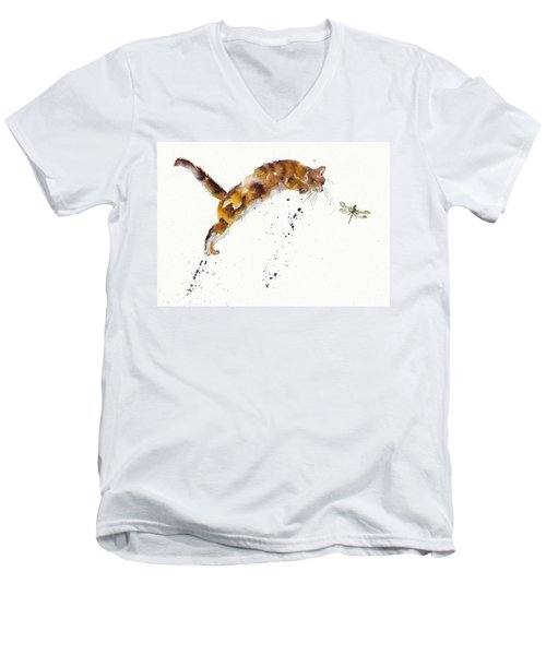 Chasing The Dragon Men's V-Neck T-Shirt