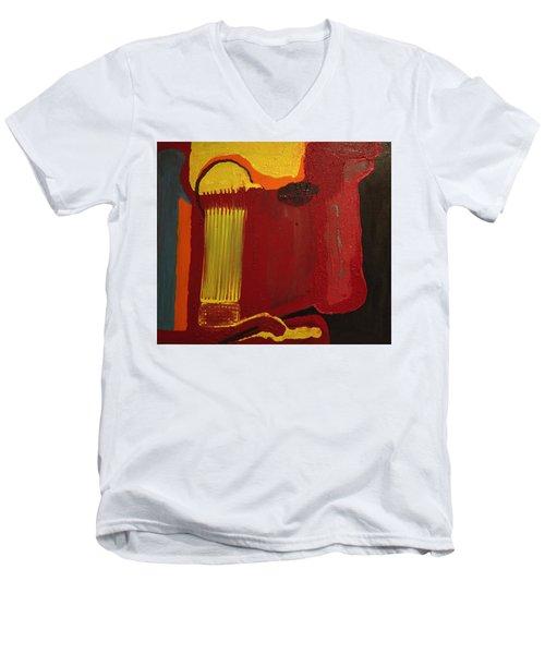 Christ's Profile Men's V-Neck T-Shirt