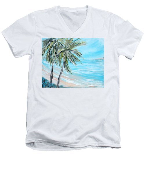 Collection. Art For Health And Life. Painting 3 Men's V-Neck T-Shirt
