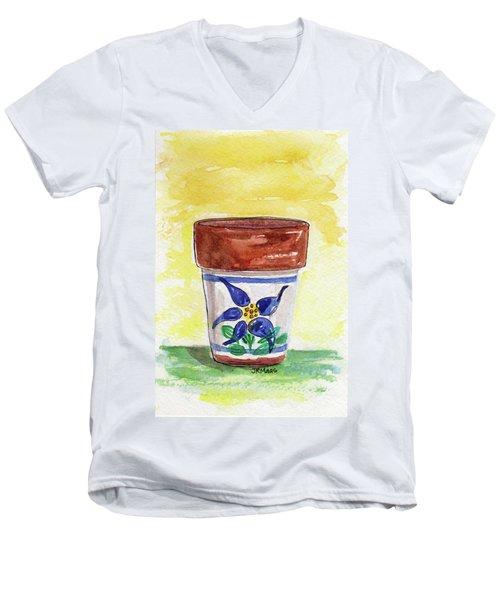 Columbine Container Men's V-Neck T-Shirt