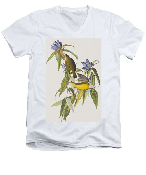 Connecticut Warbler Men's V-Neck T-Shirt