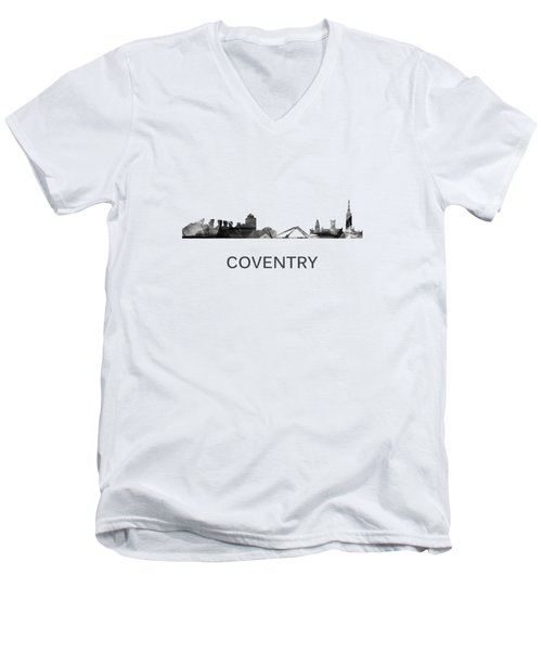 Coventry England Skyline Men's V-Neck T-Shirt