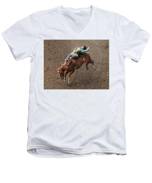 Cowboy Up Men's V-Neck T-Shirt