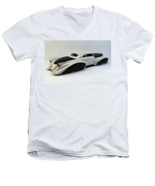 Men's V-Neck T-Shirt featuring the photograph Custom  Lead Sled by Louis Ferreira