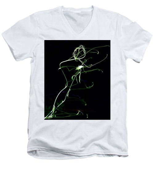 Dancing Vine Men's V-Neck T-Shirt
