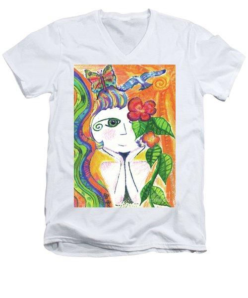 Dreamcatcher Men's V-Neck T-Shirt