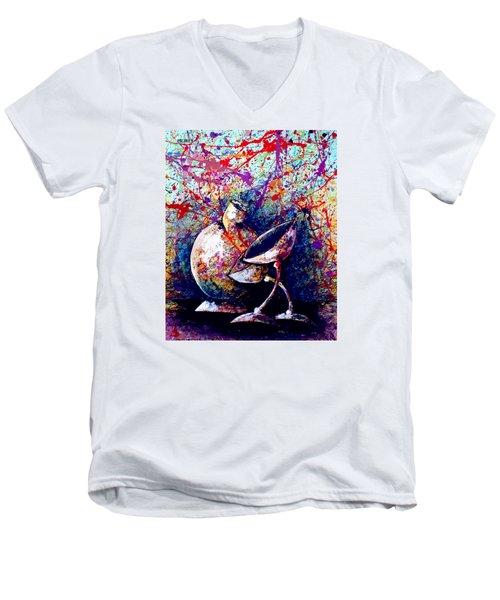Dripx 77 Men's V-Neck T-Shirt