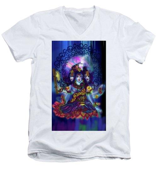 Enlightened Shiva Men's V-Neck T-Shirt