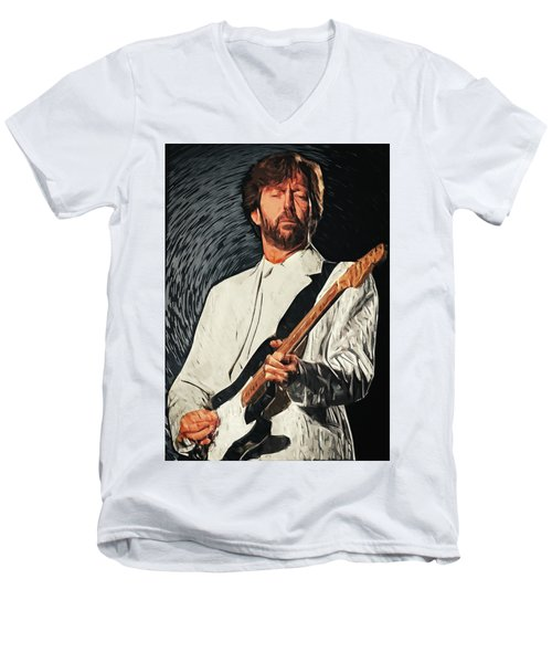 Eric Clapton Men's V-Neck T-Shirt