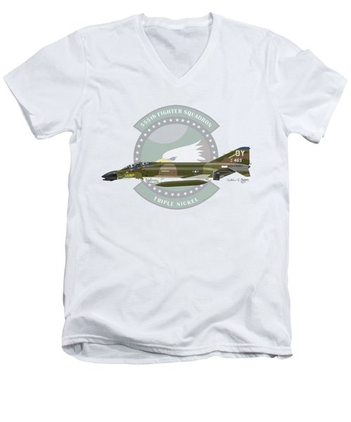 F-4d Phantom Men's V-Neck T-Shirt