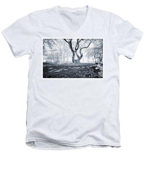 Fairy Tree Men's V-Neck T-Shirt