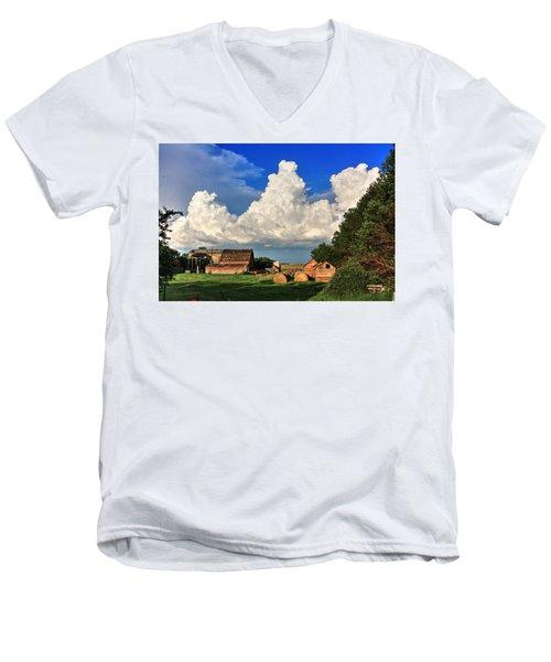 Farm Yard Men's V-Neck T-Shirt