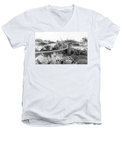 Fence Post. Men's V-Neck T-Shirt