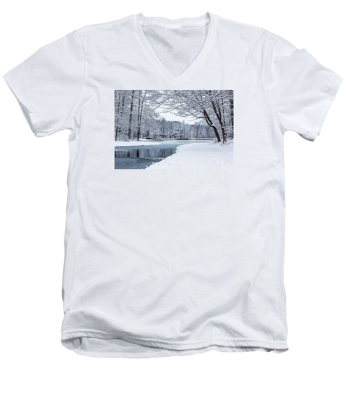 First Snow Men's V-Neck T-Shirt