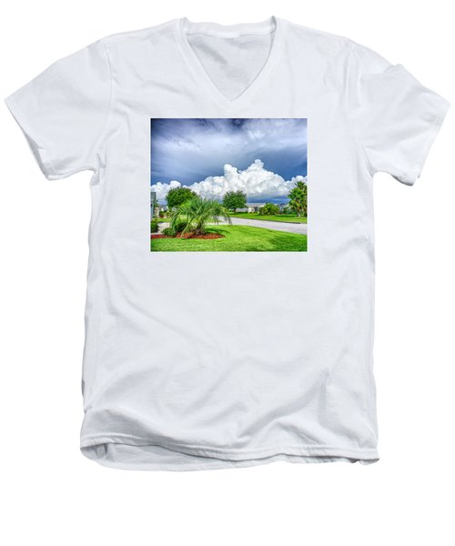 Florida Sky Men's V-Neck T-Shirt