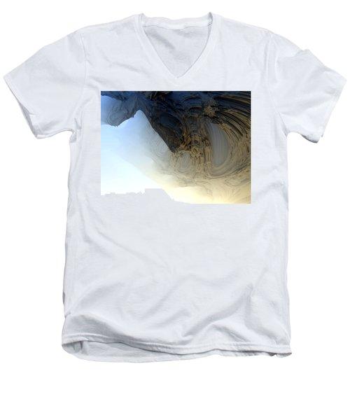 Fog In The Cave Men's V-Neck T-Shirt