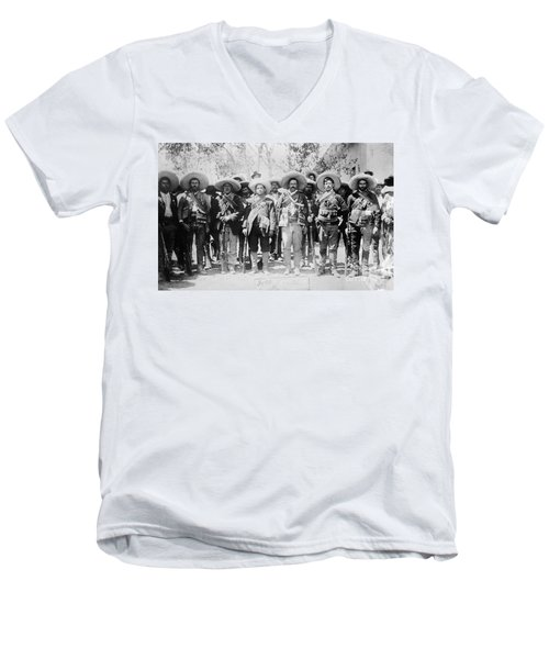 Francisco Pancho Villa Men's V-Neck T-Shirt
