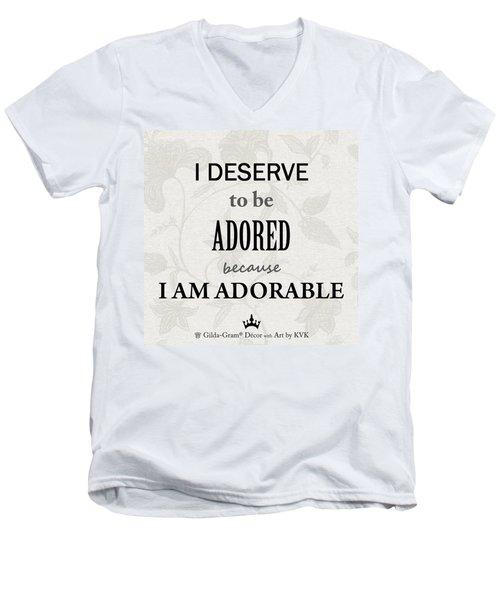 Gilda-gram Decor IIi Men's V-Neck T-Shirt