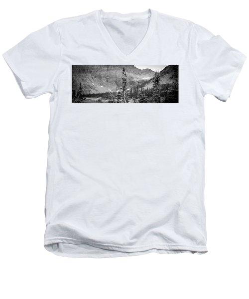 Gnarled Pines Men's V-Neck T-Shirt