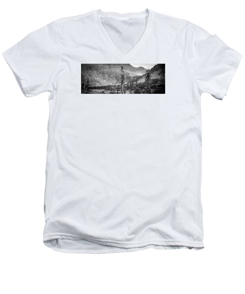 Gnarled Pines Men's V-Neck T-Shirt