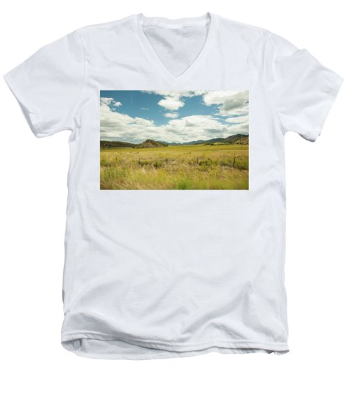 Golden Meadows Men's V-Neck T-Shirt