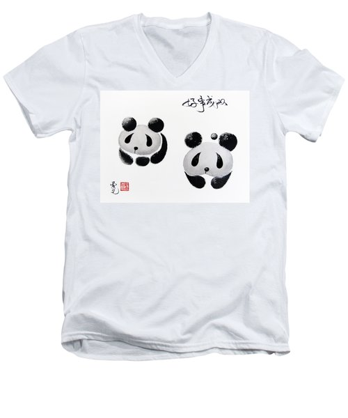 Good Things Come In Pairs Men's V-Neck T-Shirt