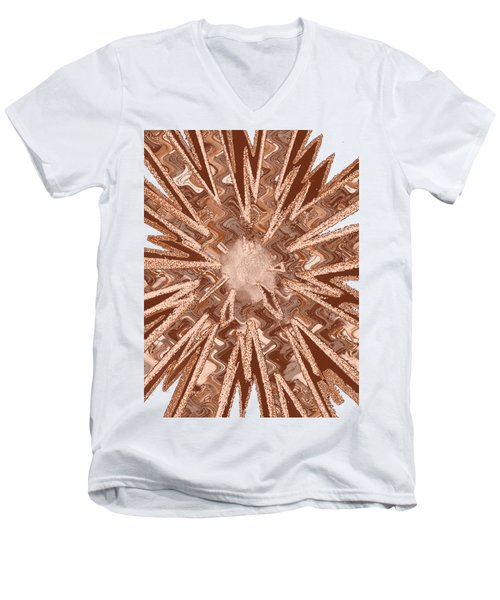 Goodluck Star Sparkles Obtained In Meditative Process Navinjoshi Artist Fineartamerica Pixels Men's V-Neck T-Shirt
