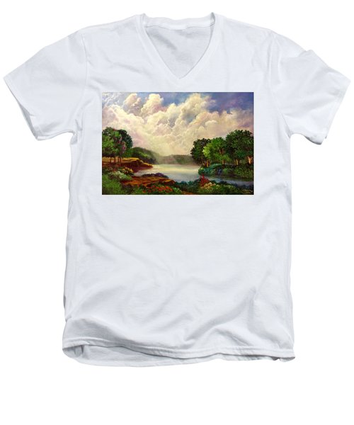 His Divine Creation Men's V-Neck T-Shirt