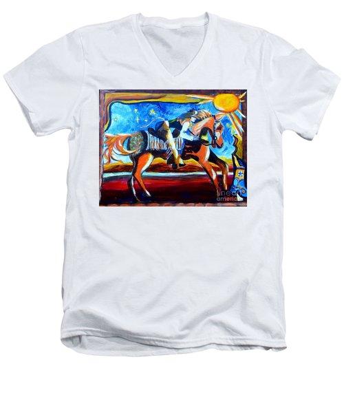 Horse Whisperer Men's V-Neck T-Shirt
