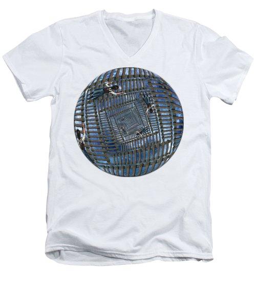 Infinity Ladders Men's V-Neck T-Shirt