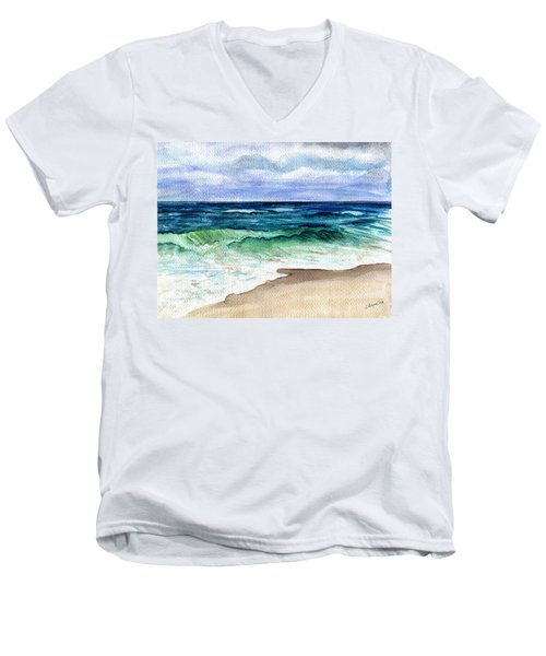 Jersey Shore Men's V-Neck T-Shirt