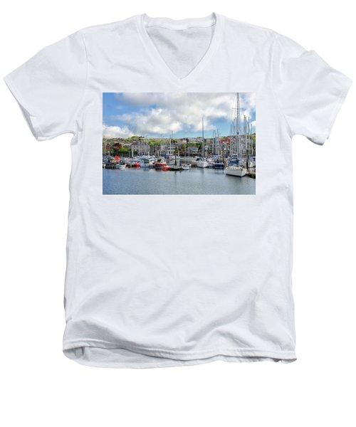 Kinsale Harbor  Men's V-Neck T-Shirt