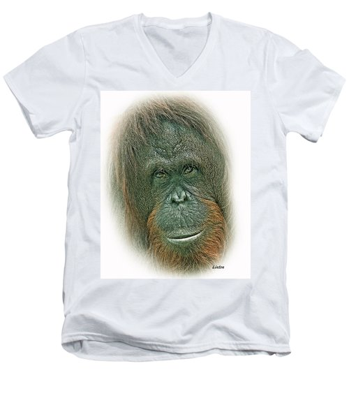 Lady Of The Forest Men's V-Neck T-Shirt
