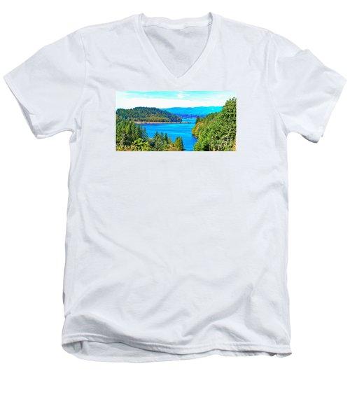 Lake Mayfield Men's V-Neck T-Shirt