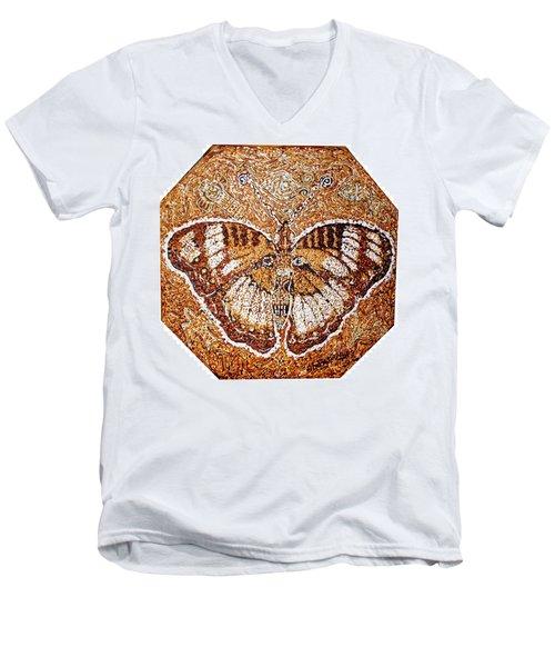 Land Of Gold Men's V-Neck T-Shirt by Bankole Abe